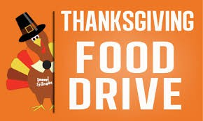 ABC Thanksgiving Food Drive: All donations go directly to our students