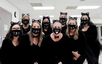 2nd grade- Cats got their tongue!
