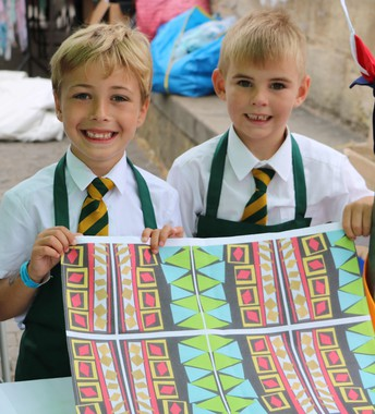 Year Two Fabric Designers