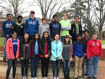 Gators of the Week:  Science Olympiad Students Finish in 10th Place out of 20