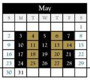 Black/Gold Day Schedule