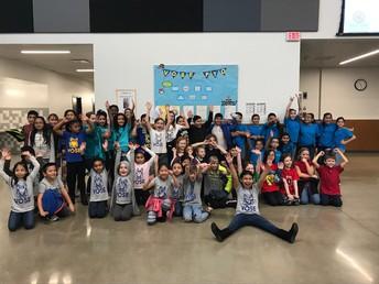 Equipos de la Batalla de los Libros en español de 4 escuelas de Beaverton
