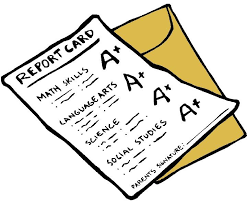 Report Cards, October 21st