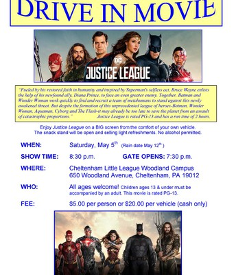 Drive in Movie | Justice League