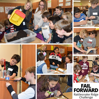 Terrace Heights Students - Learning to FAIL FORWARD