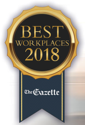 D11 Voted a Gazette Best Workplace for the Second Year in a Row!