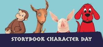 Ready...Set...Read -                       Character Dress-Up Day September 6th
