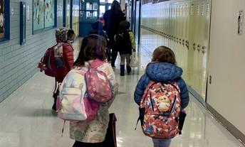 Hosmer Students Heading Into Class