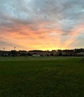 Sunrise over RHHS