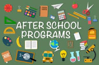 After School Classes/Activity Fliers
