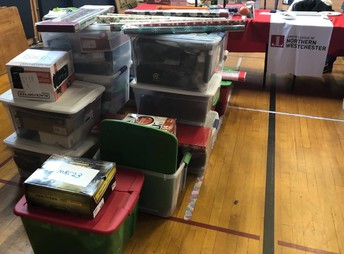 Successful Holiday Sharing Drive