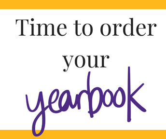 Yearbook Prices Go Up December 1st