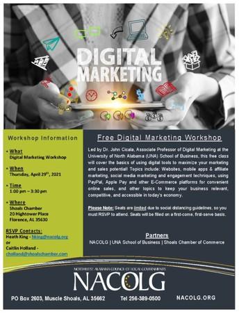 Business Digital Marketing Workshop