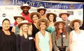Hats Off to Volunteers