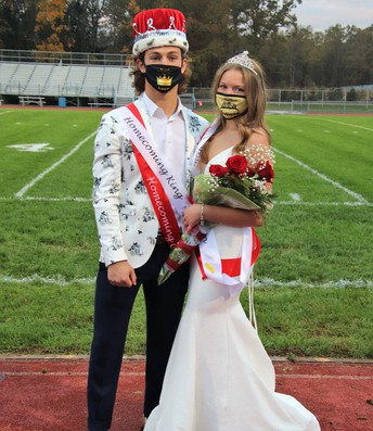 Homecoming King and Queen are...