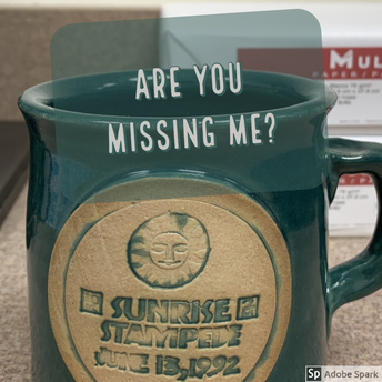 Missing a coffee mug?