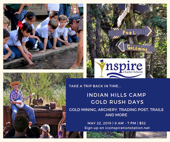 Indian Hills Camp Gold Rush Days