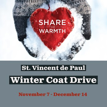 SVDP Winter Coat Drive