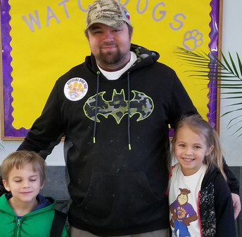 Darren Hastings, Kenlie, and Koda