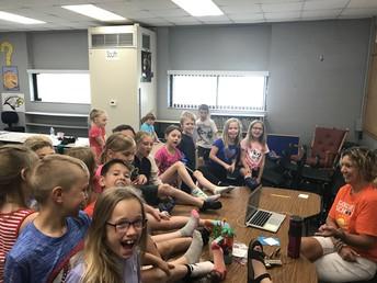 Kicking Off Summer in Second Grade