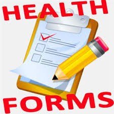 Health Forms (2nd Posting)