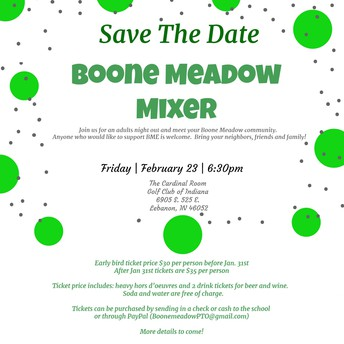 Boone Meadow Mixer