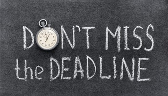 Click on the photo to see a list of College application deadlines