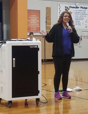 HCS Volunteer Spotlight-A.B. Chandler Elementary