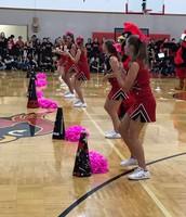 MMS Cheerleaders Crank Up the Pep Rally