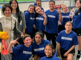 The Girl's Soccer Team