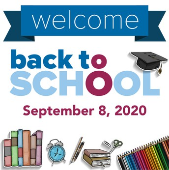 First Day of School Tuesday, Sept. 8