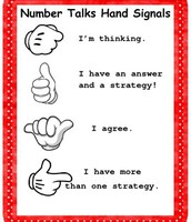 Hand signals help all students participate.