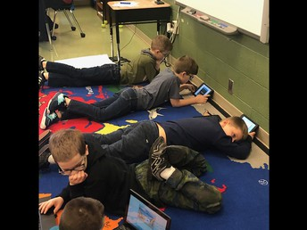 IPADS and Chromebooks in action