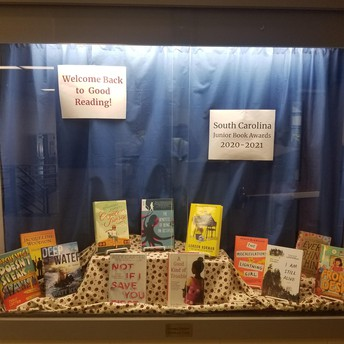 Some of the JBA Book Titles from SCASL For 20-21