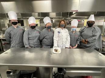 Chef Anna Hallman and Culinary Arts Academy