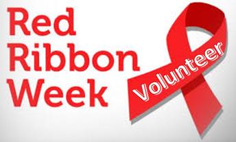Red Ribbon Week- 10/26- 11/2