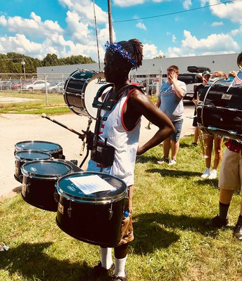Drumline is ready