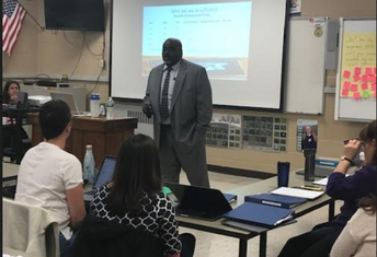 Dr. Ford Addresses the Fall '19 Cohort