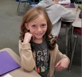 Piper, 3rd Grader