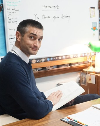 Vermont Academy of Science and Engineering Middle School Teacher of the Year:  Joshua Patriquin!