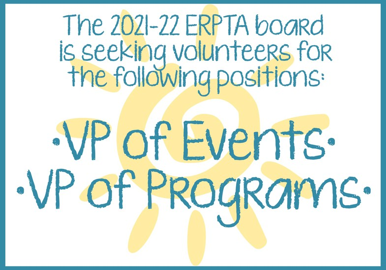 seeking ERPTA vp of events and vp of programs