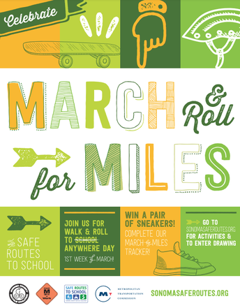 Walk & Roll: March for Miles
