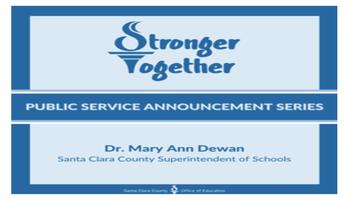 Stronger Together Public Service Announcements (PSAs) series