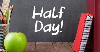 Half Days (October 15th & October 16th)