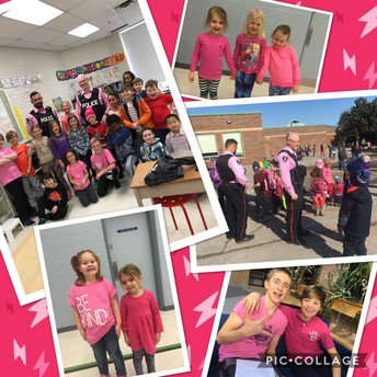 Pink shirt day brings positive thinking forward