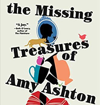 Cover of the missing treasures of amy ashton