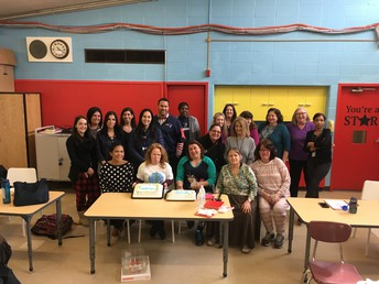 Teachers and Staff at Mary Fogarty Elementary School Complete Training