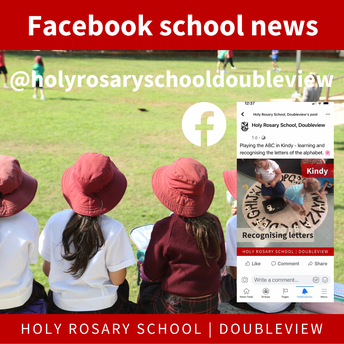 Follow our school Facebook for news