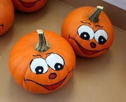 Pumpkin Painting Activity