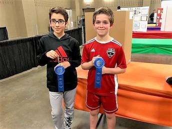 Pedro Alvarez and Jack Weber, 1st Place Finalists